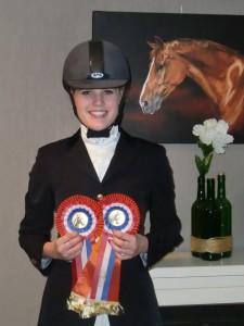 Kampioen Z1 en Z2 pony's Balkbrug 2014