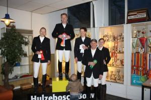 L1 paarden Indoor 2013